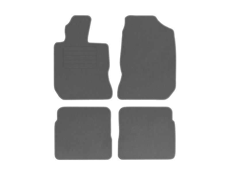 Fußmatten Kettelung silber Chrysler PT Cruiser 2000-2010 Automatten